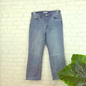 Harper Heritage High Rise Straight Jeans Size 30